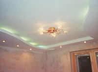 Сатиновый потолок 5х8