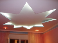Сатиновый потолок 6х4