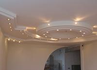 Сатиновый потолок 4х4
