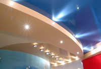 Сатиновый потолок 4х5